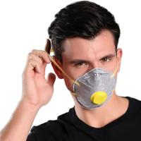 China Anti Dust Activated Carbon Cup FFP2 Mask , Disposable Nonwoven Dust Mask With Valve wholesale