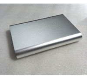 China Sandblasted Extruded 6063-T5 Aluminium PCB Enclosure Box wholesale