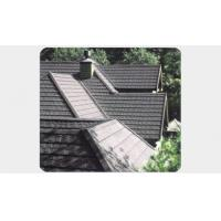 Quality Heatproof Anti-corrosion Flat Type Residential Stone Coated Steel Roof for sale