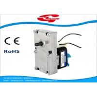 China Gear Box Shaded Pole Motor For BBQ Machine , Skimmer , Massager , Pellet stove wholesale