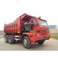 China 70 Tons Mining King 6x4 Tipper Truck 10 Wheeler With Front Lifting System wholesale