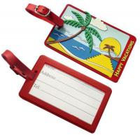 Personalized Pvc. rubber, silicone, plastic luggage bag tags accessories