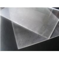 China OK3D 20LPI Lenticular PS sheet standard size 1.2*2.4m 3mm thickness for 3d flip effect lenticular printing wholesale