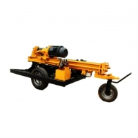 China ISO 3.0MPa 200m Well Drilling Machine By Air Operated wholesale