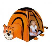 China Kids Animal Tiger Childrens Play Tent Soft Play Indoor Equipment Easy Install wholesale