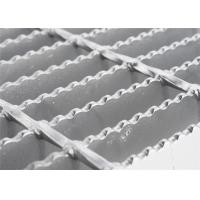 China Round Bar Custom Stainless Steel Grill Grates ,Pressure Welded Open Mesh Flooring wholesale