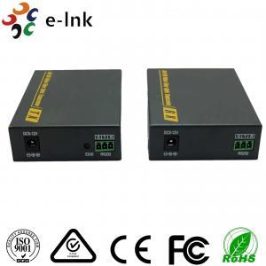 China 3860 x 2160 30Hz Fiber Optic To Hdmi Converter 3D Signal SM 2km 4K wholesale