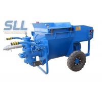 China Professional Cement Render Pump , Electric Cement Grout Pump 50 L/Min Output wholesale