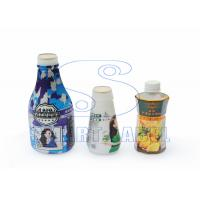 China Recyclable Polyolefin Shrink Film Roll , Colored Shrink Bands on Drink Bottle 40 Mic wholesale