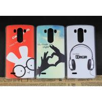 China Slim Shell PC Rubberized Customized Cell Phone Cases For LG G3 / Mobile Hard Back Cover on sale