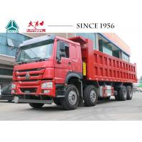 China Sinotruk 40 Tons HOWO Dump Truck 8X4 With Big Capacity For Sale For Mine Site wholesale