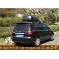 China 320L Universal Car Roof Boxes Aerodynamic Rack Luggage Pod Basket Cargo Carrier wholesale