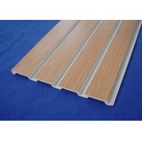 China PVC Slatwall for Store Fixture PVC Wall Cladding For Garage Wall wholesale