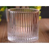 China 530Ml Personalized Glass Candle Holders For Table , Eco Friendly wholesale