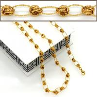 China 18K Real Gold Plated Big Size Chunky Link Chain Women/ Men Necklaces & bangle Fashion wholesale