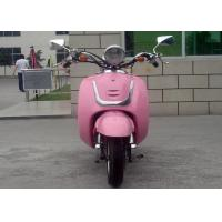 China Pink Color Adult 50cc Motocross Bikes 2 Seats Mini Street Bikes For Lady on sale