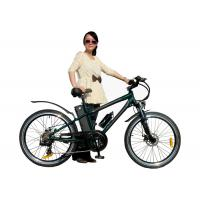 China Girls Racing MTB Foldable Electric Bicycle , High Speed Mountain e-Bike 26 PAS System wholesale