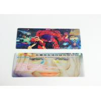 China Durable Lenticular 3D Animation Business Cards With Offset Printing wholesale