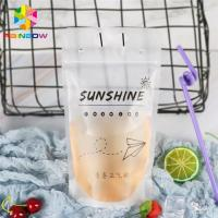 China Gravure Printing Plastic Bag Packaging Colorful Straws For Packing Liquid Drink wholesale