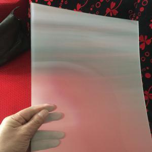 China 75LPI 51cmx71cm PET lenticular lens sheet for injekt print and uv print with good Lenticular Printing Effect wholesale