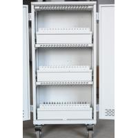 Quality Steel Material Computer Charging Cart For 60 , Fan Cooling Laptop Storage Cart for sale