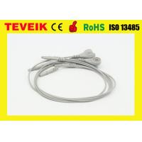 China Reusable Holter Recorder one piece ECG Cables and Leadwires, DIN1.5 type wholesale