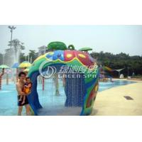 China Family Members Water Fun Game Apple House for Giant Park Play Equipment wholesale