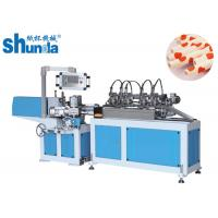 China Customized Paper Made Drinking Straw Tube Forming Machine PLC Control System wholesale
