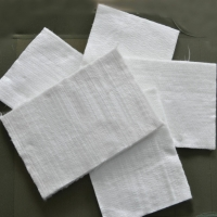 China White color 15mm thickness fiberglass needle mat used for insulation or filter wholesale