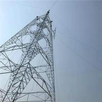 China 132kv Steel Pole Tower Electric Transmission Tower For Electrical Line on sale