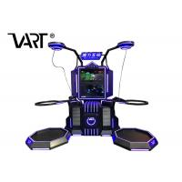 China Double Player Standing Virtual Reality VR Machine With 80pcs Interactive Shooting Games wholesale