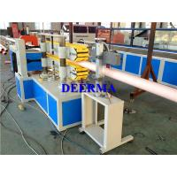 China Automatic Plastic Pipe Extrusion Line For 16-630mm WaterPVC Pipe Machine wholesale