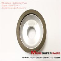 China 11B2 CBN diamond grinding wheel processing high - speed steel Alisa@moresuperhard.com wholesale