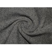 China Waterproof Tweed Wool Fabric Grey With Environmental Material Lightweight wholesale
