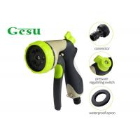 China Garden Irrigation Hand Held Spray Nozzles 3/4 Water Inlet 8 Function Sprinkler wholesale