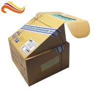 Quality Folded Corrugated Paper Box Glossy Lamination Printing Handling For Mailing for sale