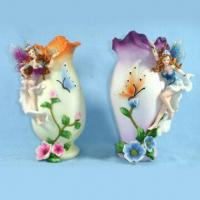 China Polyresin Art Bottle in Lovely Design/Style, Ideal for Table and Home Decoration on sale