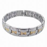 China Wholesale Egypt Style Hot Selling Bracelet, Made of Stainless Steel/Titanium Materials wholesale
