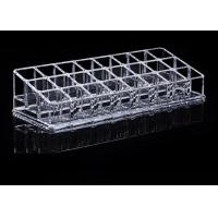 China Tattoo Accessories Crystal Clear Acrylic Ink Cup Holder 24 Holes Permanent Makeup Holder wholesale