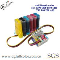 China PP CISS Continuous Ink Supply System With laster version combo chip for Epson 1390 printer wholesale