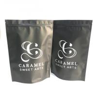 China Aluminum Foil Tea Packaging Pouch Smell Proof Front Window Mylar Bags For Gummy Candy Weed wholesale