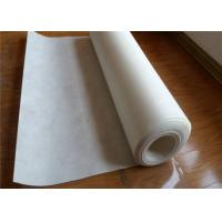White Geotextile Drainage Fabric , Corrosion Resistance Needle Punched Geotextile