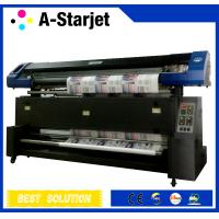 China 1.8m Automatic Dye Sublimation Fabric Printer With Epson Print Head wholesale