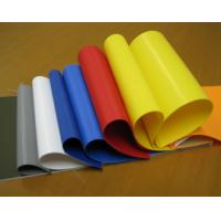 China 800gsm Glossy PVC Coated Tarpaulin / Inflatable Tents Plastic Tarpaulins Fabric wholesale
