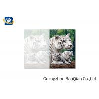 China Lovely Animals 3D Image Lenticular Card Printing Two Sides CMYK Offset Printing wholesale