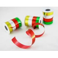 Quality Premium Ribbon Roll 5mm Width PP Printed Solid And Metalic Curl Ribbon for sale