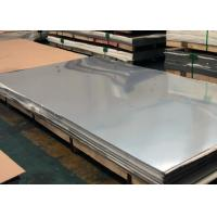 China Household Food Grade Stainless Steel Sheet , 2500 3000 6000mm Length 304 SS Plate wholesale