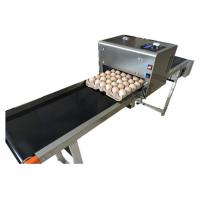 China High tech carton coding machine eggs number inkjet printer with solvent For Egg Supplier wholesale