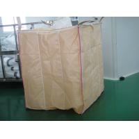 China PE Liner Beige baffle Flexible FIBC jumbo bags for packaging starch powder on sale