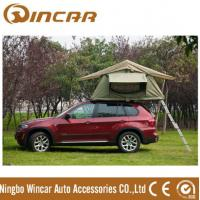 China 260g/280g Outdoor Custom Roof Top Tent For Car / Jeep With Canvas Fabric Double Layers wholesale